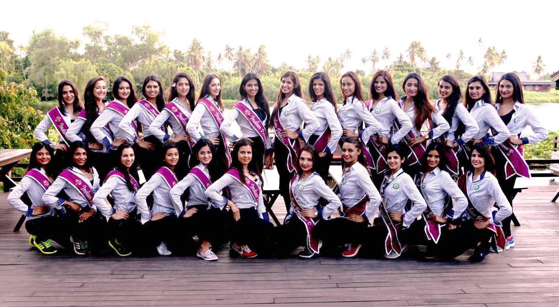 Groepsfoto Indian princes 2015