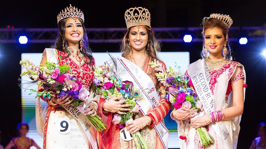Ashvita Jakhari - First Runner-up | Sharon Jagesar - Miss India Holland 2016 | Rachana Dwarka - Second Runner-up